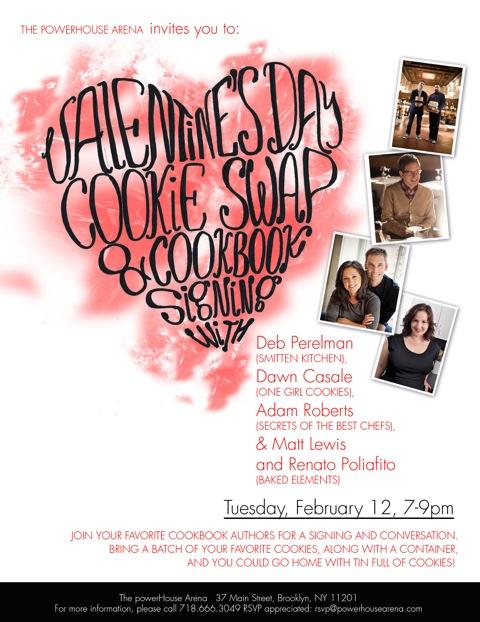 Valentines Day Cookie Swap & Cookbook Signing