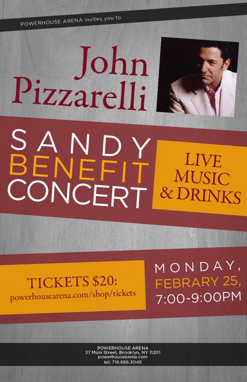 John Pizzarelli Sandy Benefit Concert