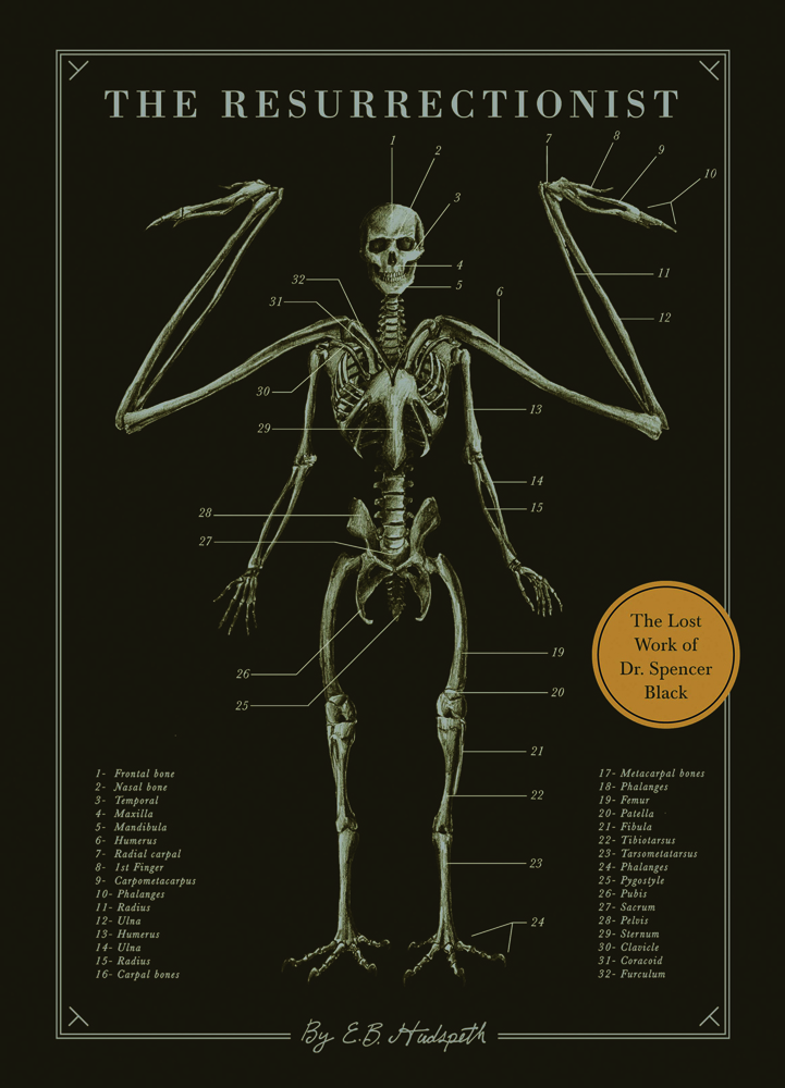 Book Launch: The Resurrectionist: The Lost Works of Dr. Spencer Black by E.B. Hudspeth