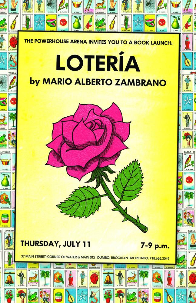 Book Launch: Lotería by Mario Alberto Zambrano