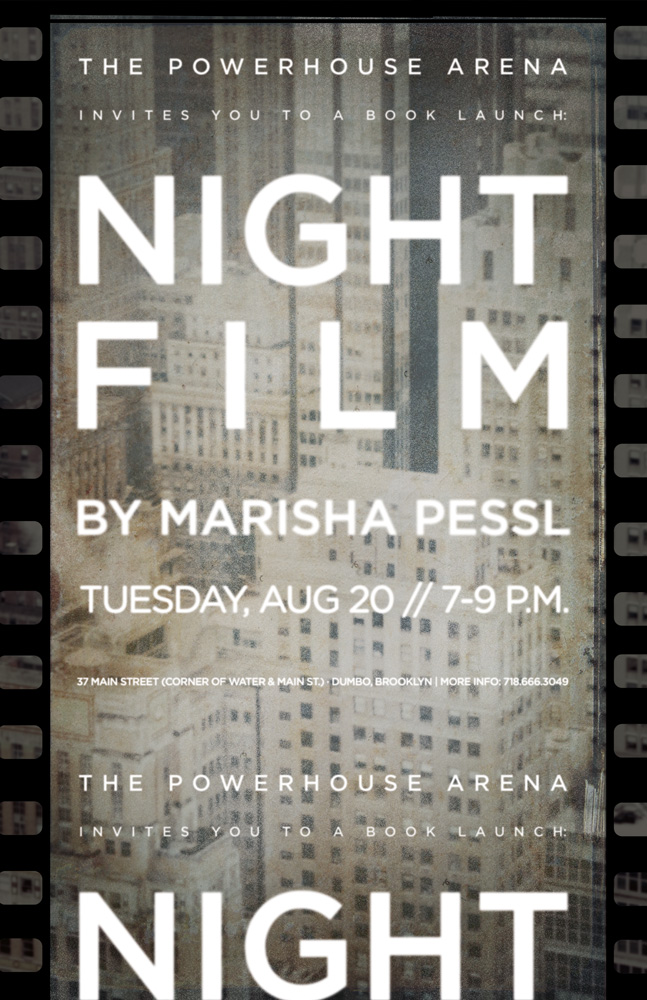 Book Launch: Night Film by Marisha Pessl, with Adam Green