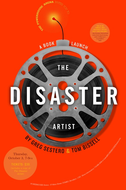Book Launch: The Disaster Artist by Greg Sestero and Tom Bissell