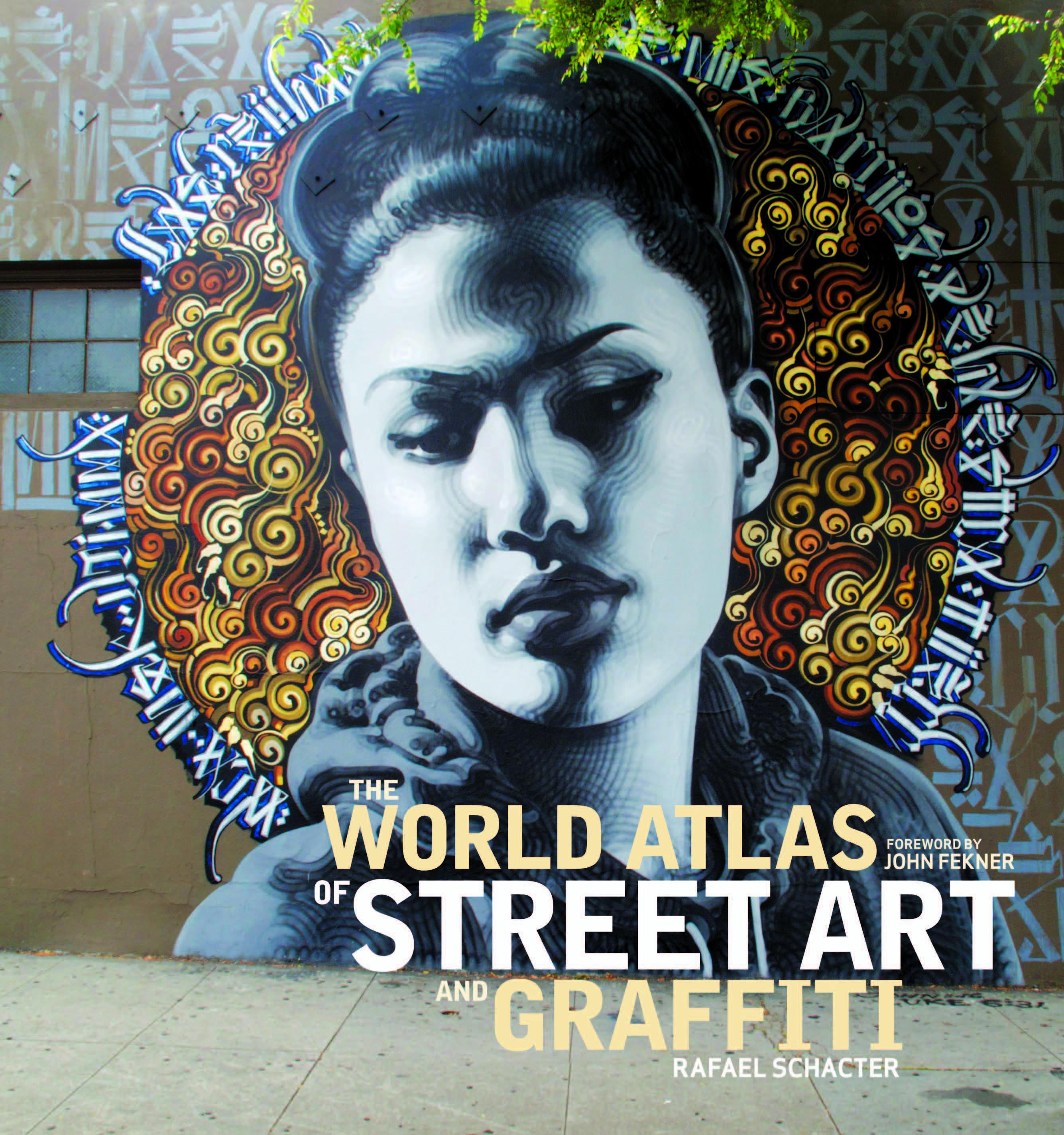 "NYC Book Launch: The World Atlas of Street Art and Graffiti by Rafael Schacter, with Ron English, David ""Chino"" Villorente, and Katsu"