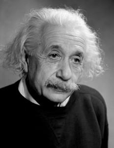 Albert Einstein, Princeton New Jersey 1946 by Fred Stein