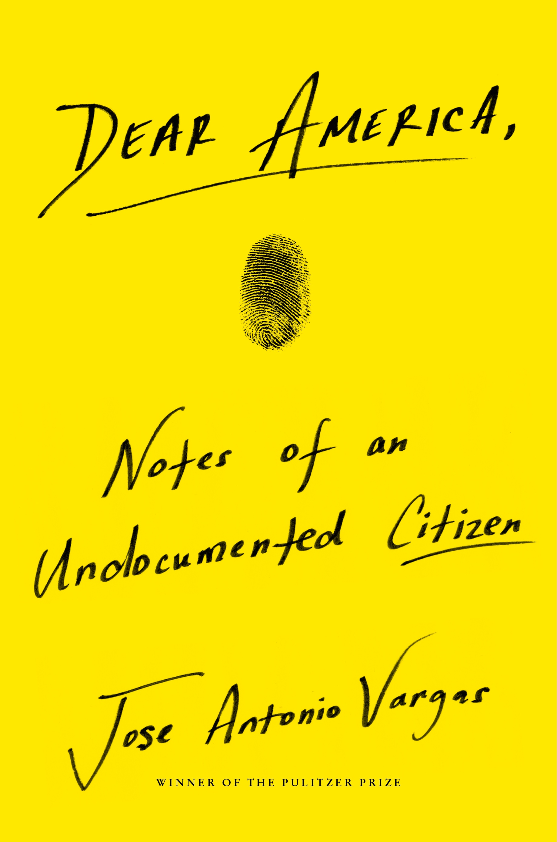 Book Launch: Dear America: Notes of an Undocumented Citizen by Jose Antonio Vargas — in conversation w/ MSNBC's Joy Reid