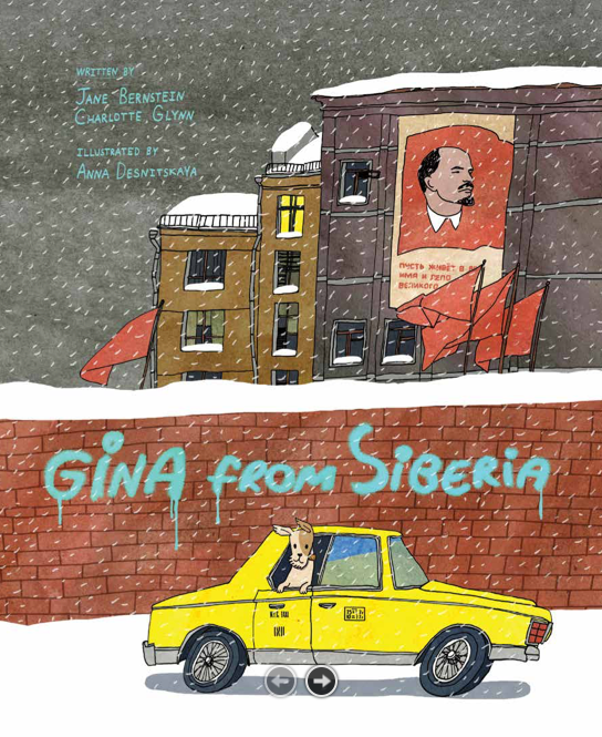Book Launch: Gina From Siberia by Jane Bernstein and Charlotte Glynn