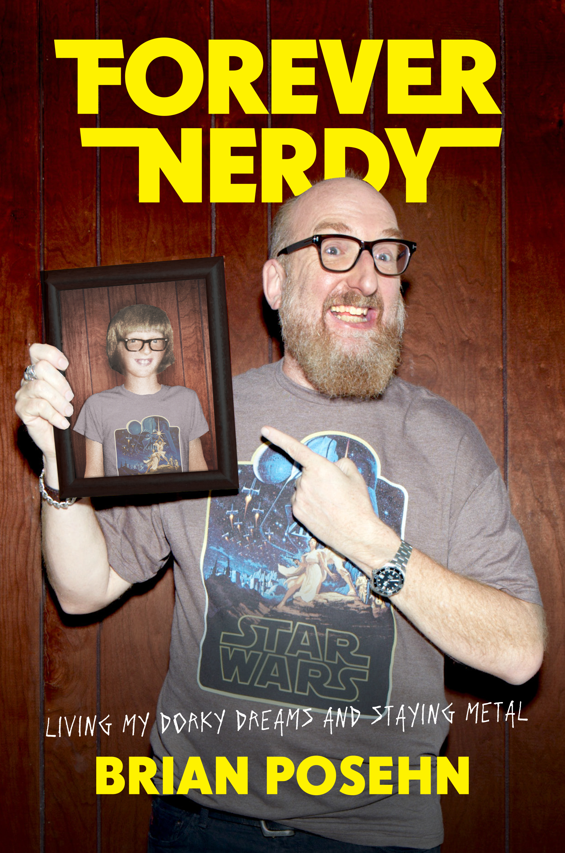 NYC Book Launch Forever Nerdy:  Living My Dorky Dreams and Staying Metal  by Brian Posehn