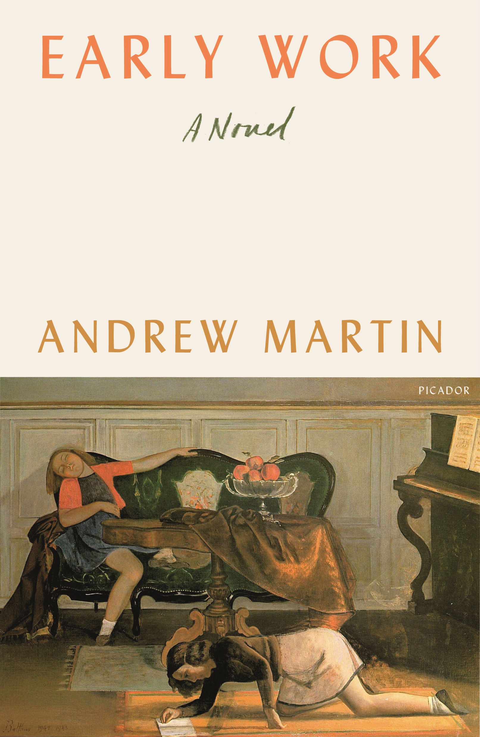 Book Launch: Early Work by Andrew Martin