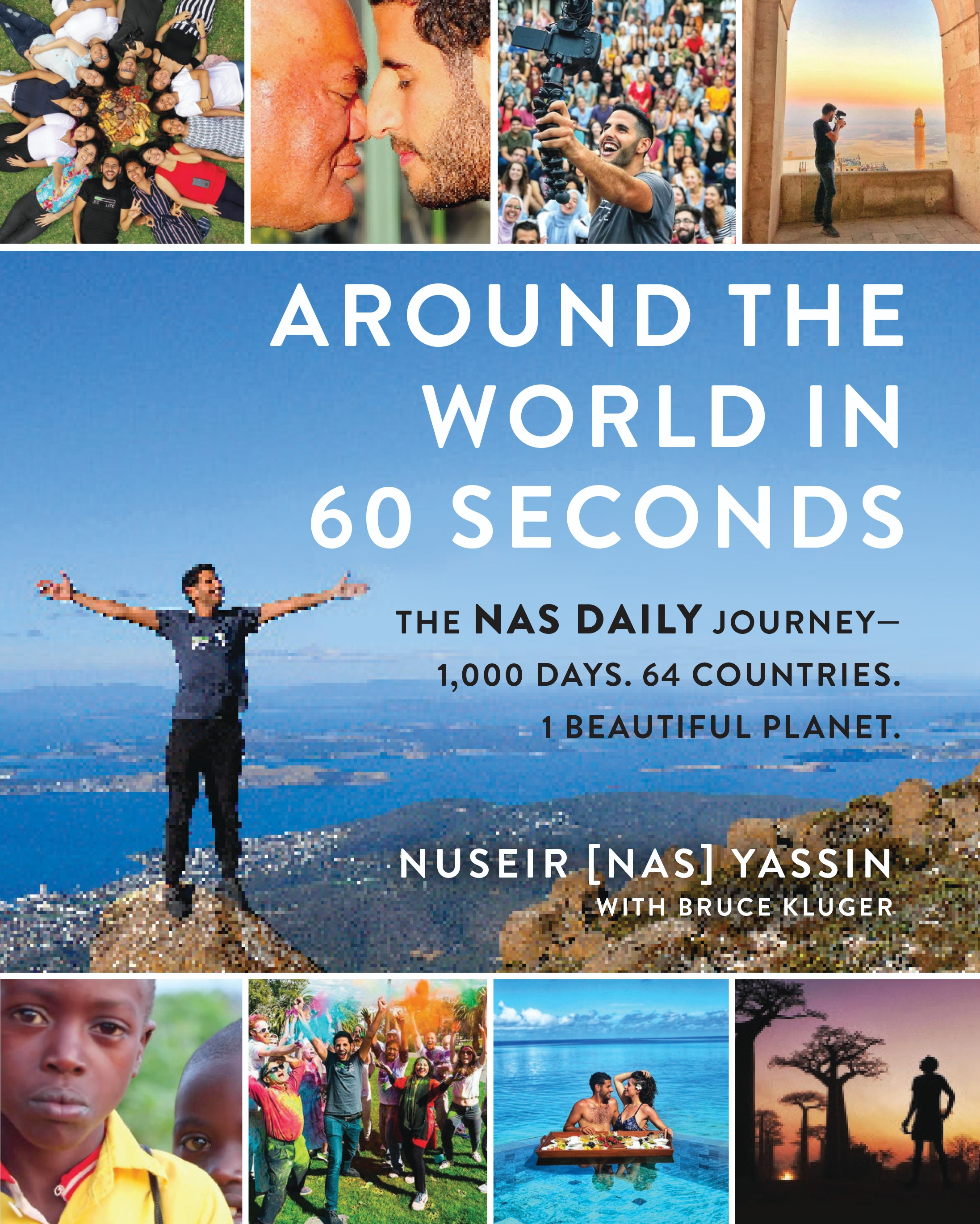 """Book Launch: Around The World In 60 Seconds: The Nas Daily Journey by Nuseir """"Nas"""" Yassin"""