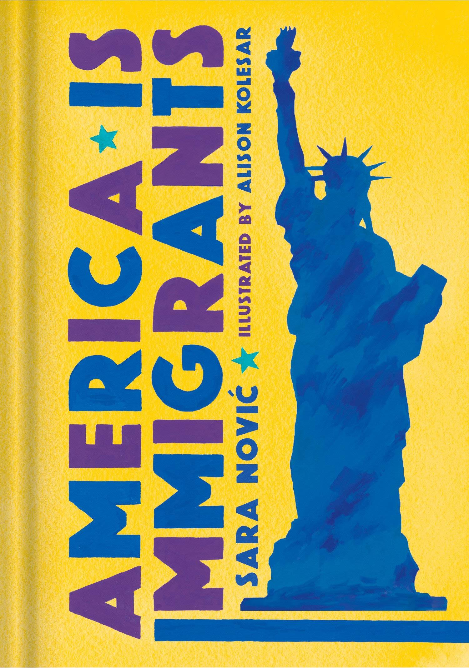 Book Launch: America Is Immigrants by Sara Nović