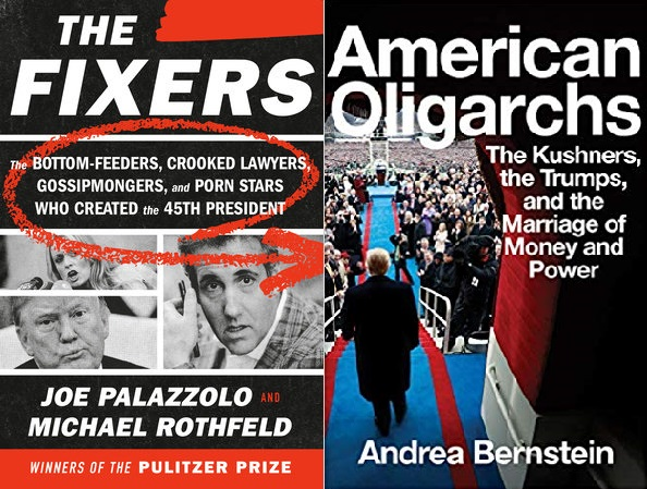 Book Talk: Andrea Bernstein (author of AMERICAN OLIGARCHS) with Joe Palazzolo and Michael Rothfeld (authors of THE FIXERS)