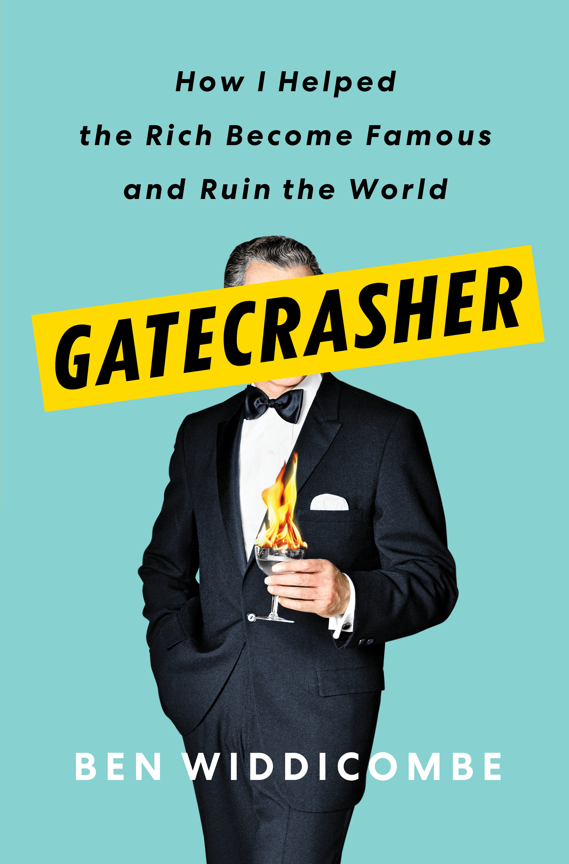 Virtual Book Launch: Gatecrasher by Ben Widdicombe