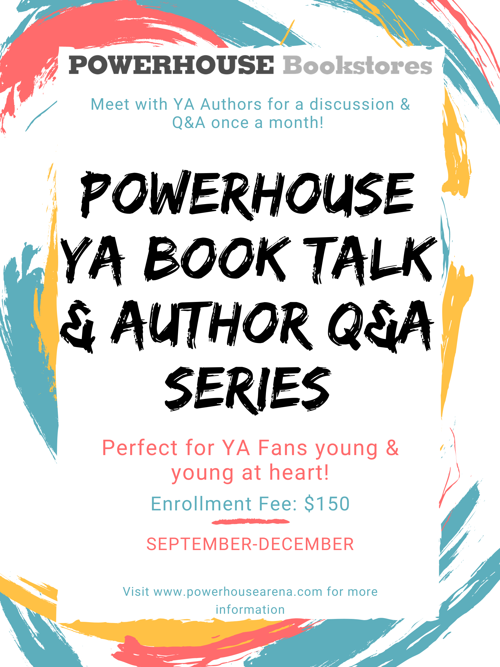 POWERHOUSE YA Book Talk and Author Q&A Series