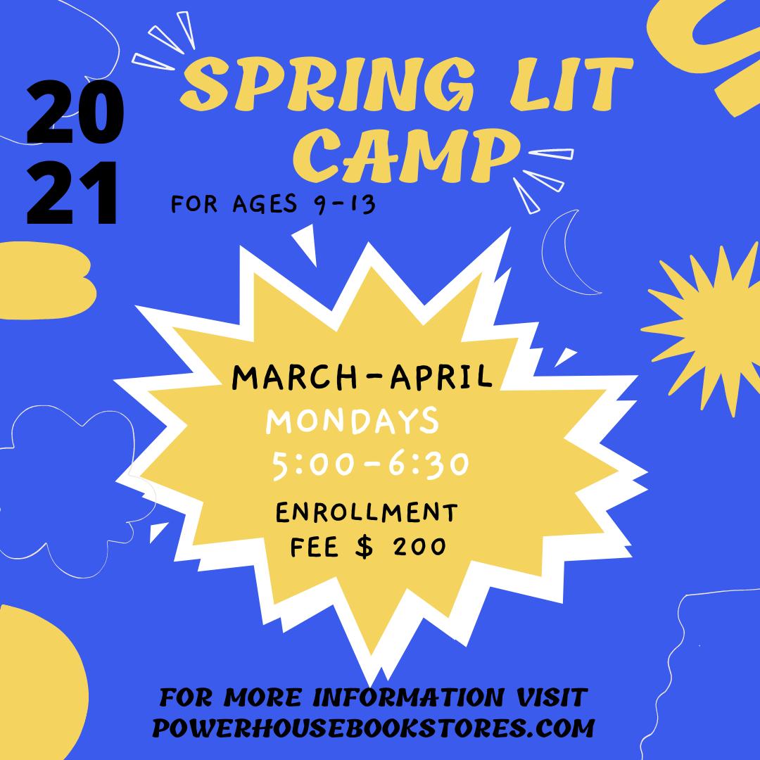 Spring Lit Camp 2021