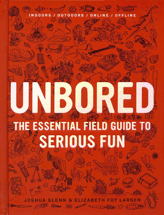 Unbored: The Essential Field Guide to Serious Fun by Joshua Glenn and Elizabeth Foy Larsen