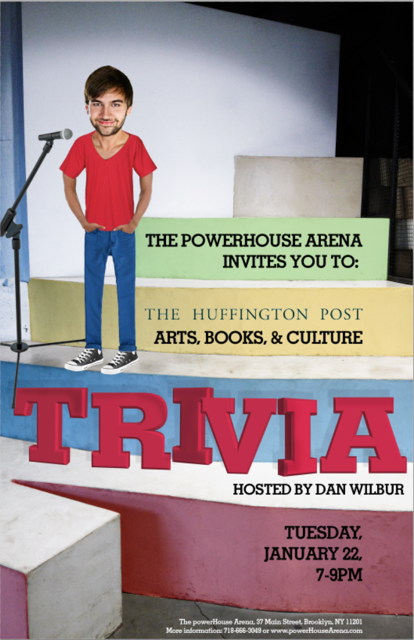Huffington Post Arts, Books, & Culture Trivia hosted by Dan Wilbur