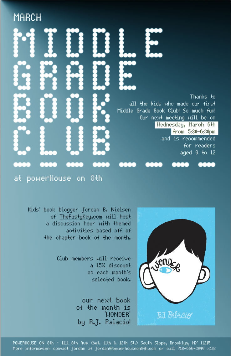 Middle Grade Book Night