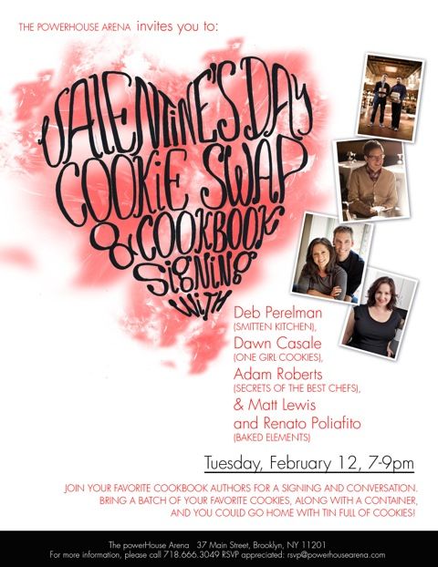 Valentines Day Cookie Swap & Cookbook Signing