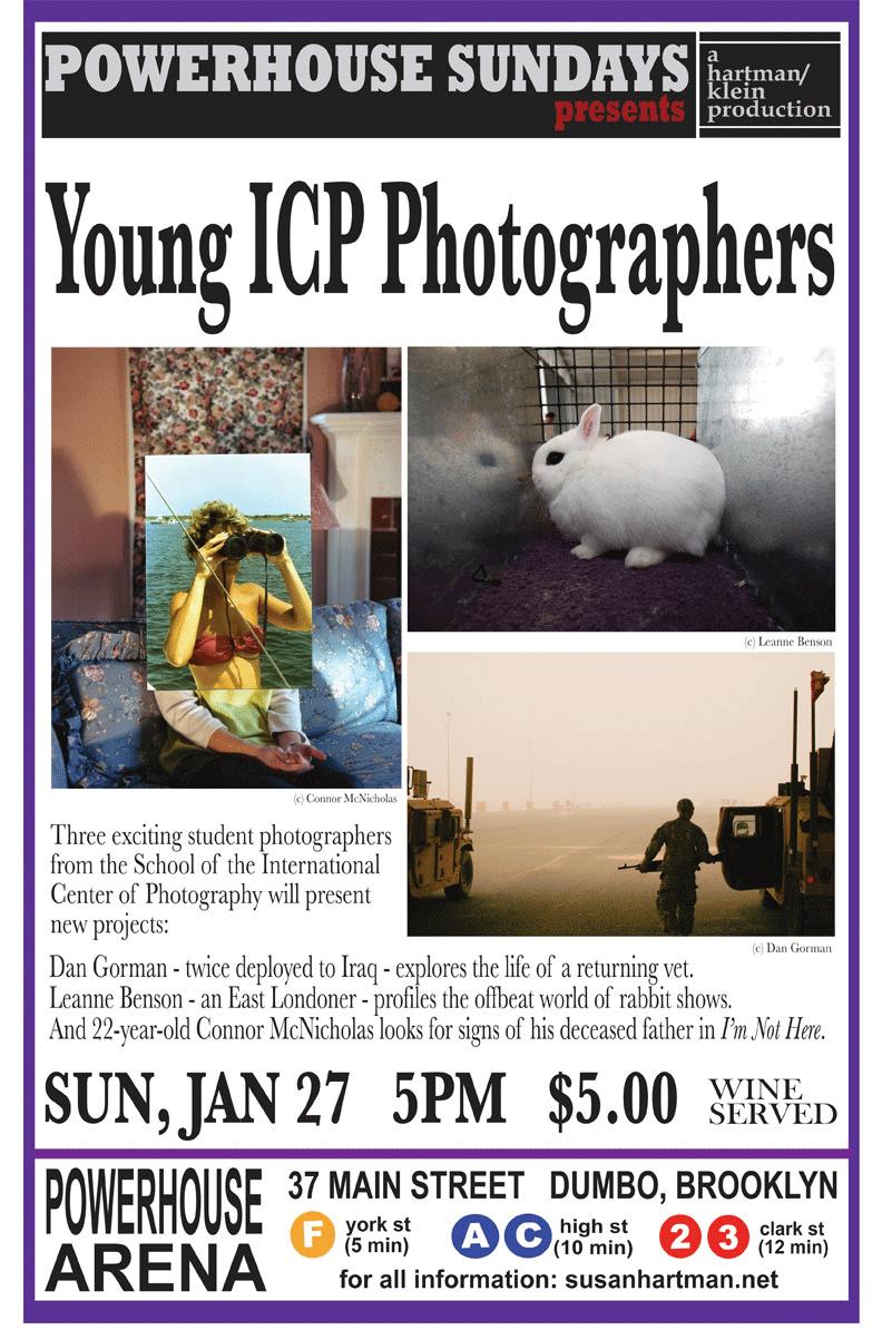 powerHouse Sundays: Young ICP Photographers