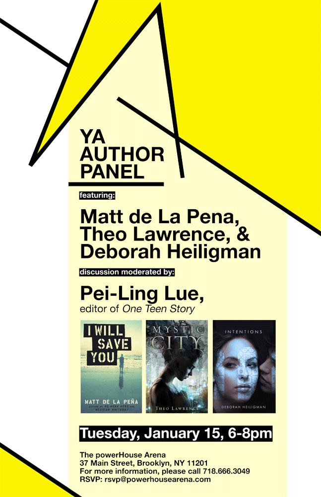 YA Author Panel