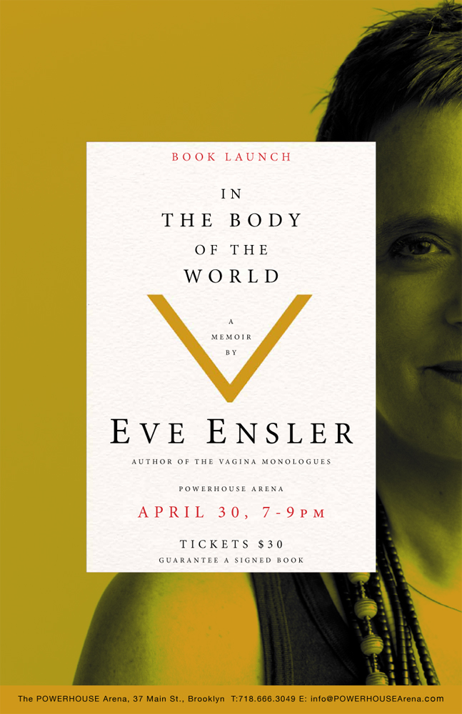 Book Launch: In the Body of the World by Eve Ensler
