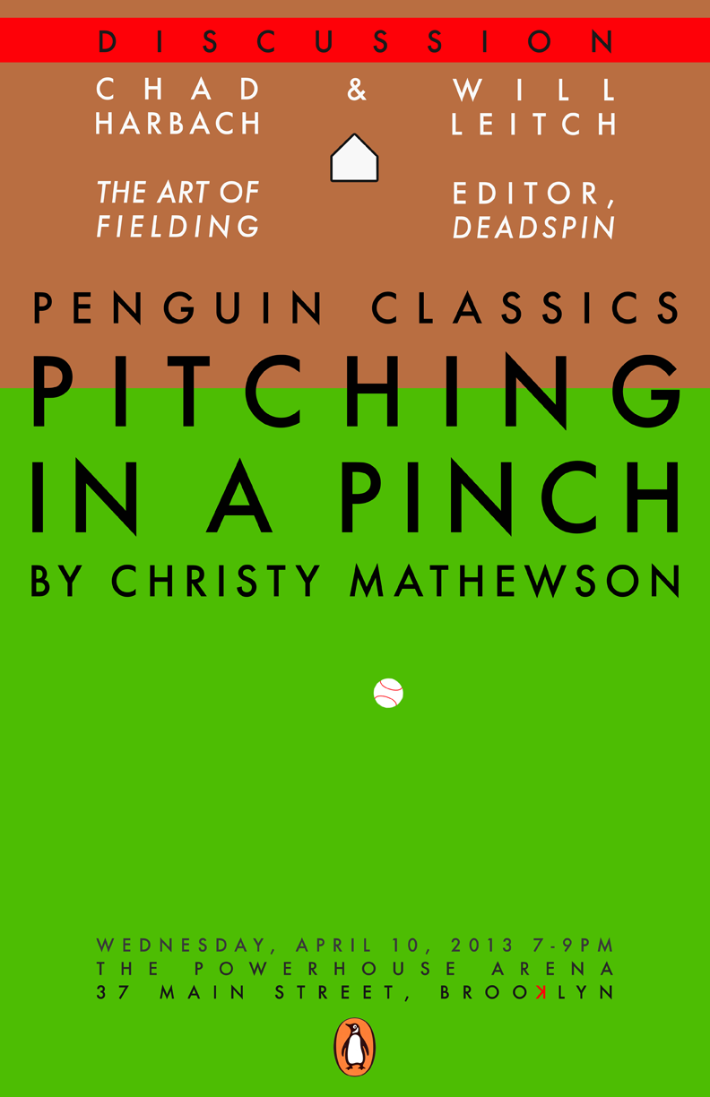 Pitching in a Pinch featuring Chad Harbach & Will Leitch (Deadspin)