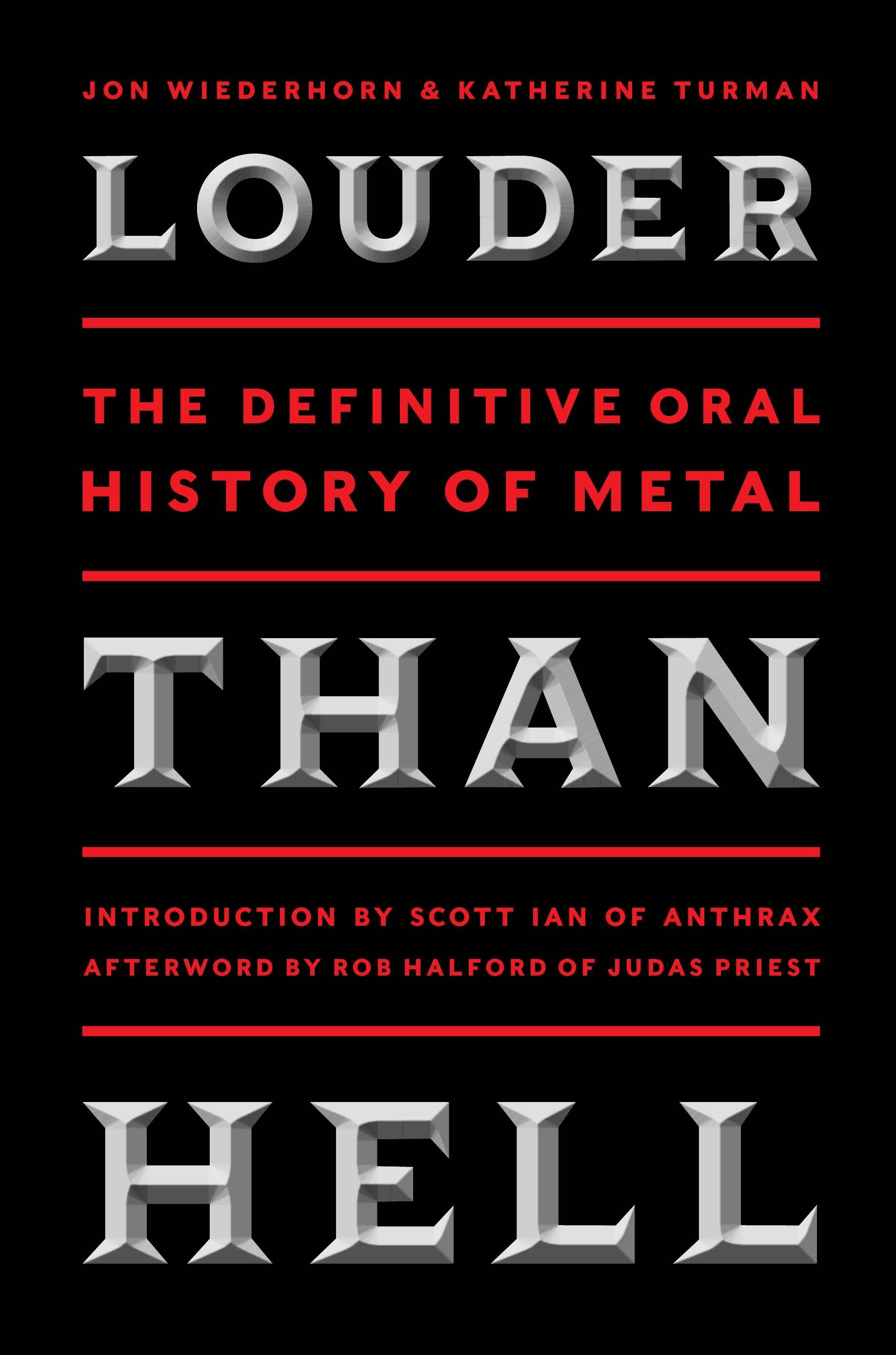 Book Launch: Louder Than Hell by Jon Wiederhorn & Katherine Turman