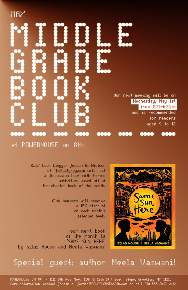 Middle Grade Book Night at POWERHOUSE on 8th