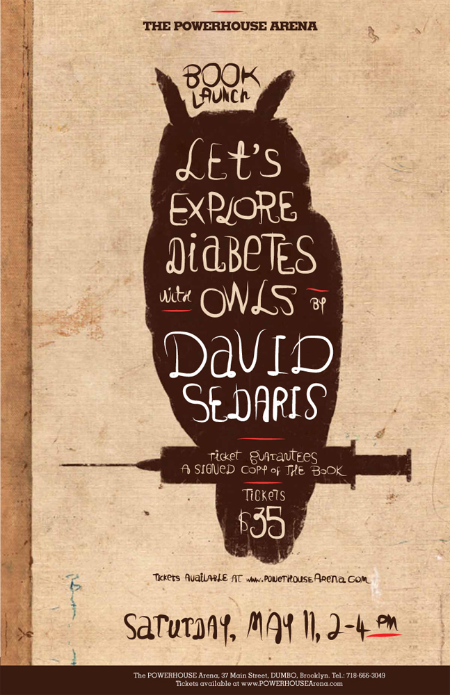 Book Launch: Let's Explore Diabetes with Owls by David Sedaris