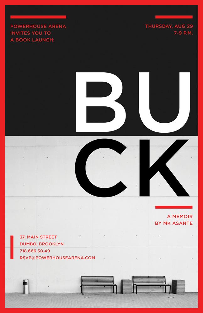Reading & Discussion: BUCK: A Memoir by MK Asante, with Kiese Laymon