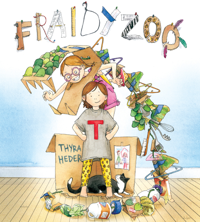 Book Party: Fraidyzoo by Thyra Heder