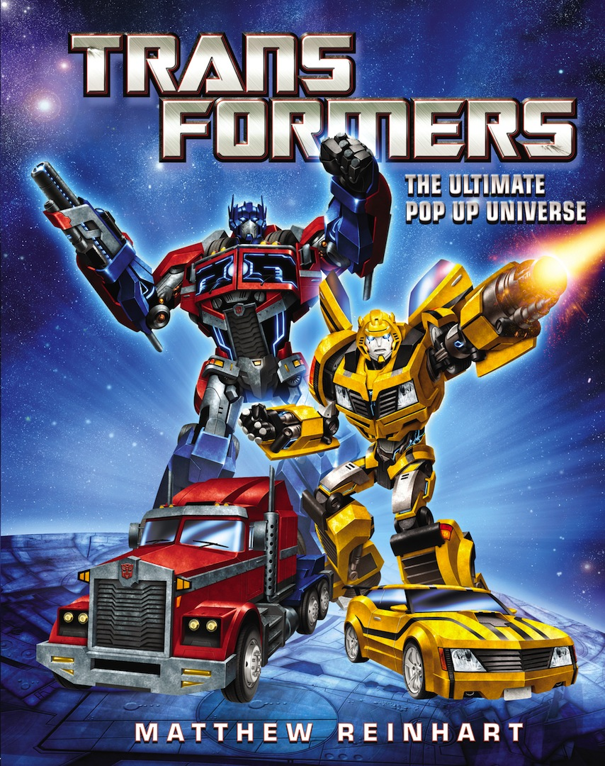 Book Party & Craft Demo: Transformers: The Ultimate Pop-Up Universe by Matthew Reinhart
