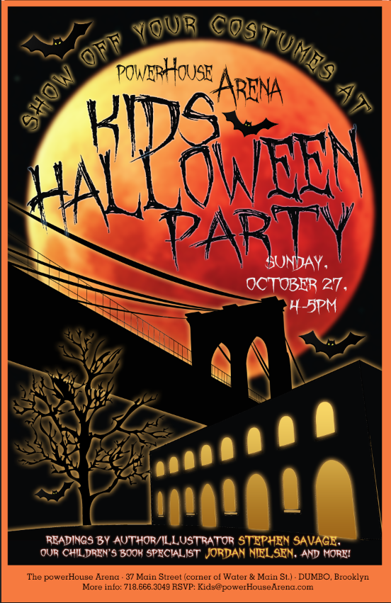 POWERHOUSE Arena's Kids Halloween Party