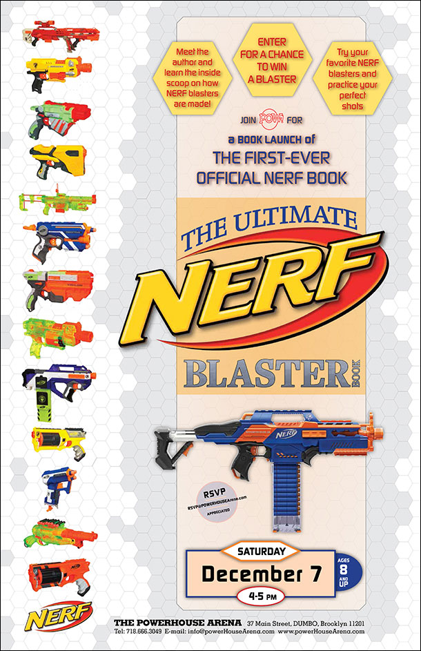 Book Launch: NERF: Ultimate Blaster Book