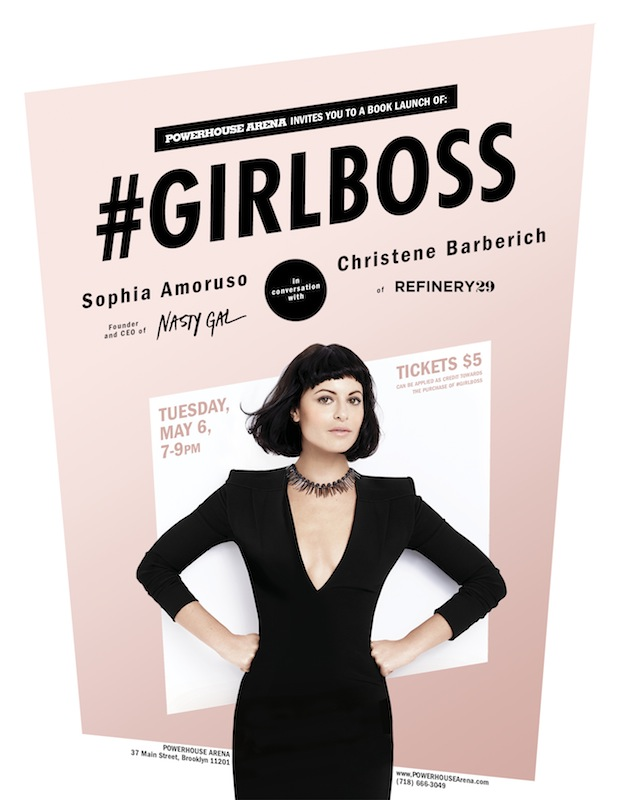 Book Launch: #GIRLBOSS by Sophia Amoruso, with Christene Barberich of Refinery29