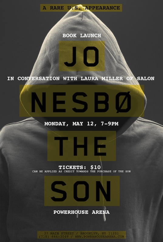 Book Launch: The Son by Jo Nesbø, with Laura Miller (Salon) and Sonny Mehta (Editor in Chief, Alfred A. Knopf)