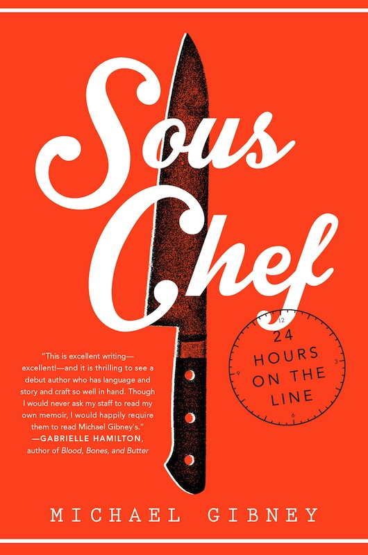 Brooklyn Book Launch: Sous Chef by Michael Gibney, with journalist Charles Shafaieh