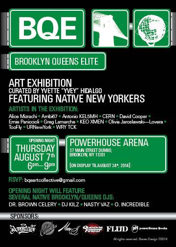 Opening Reception: Brooklyn Queens Elite, Art Exhibition, curated by Yvette Hidalgo