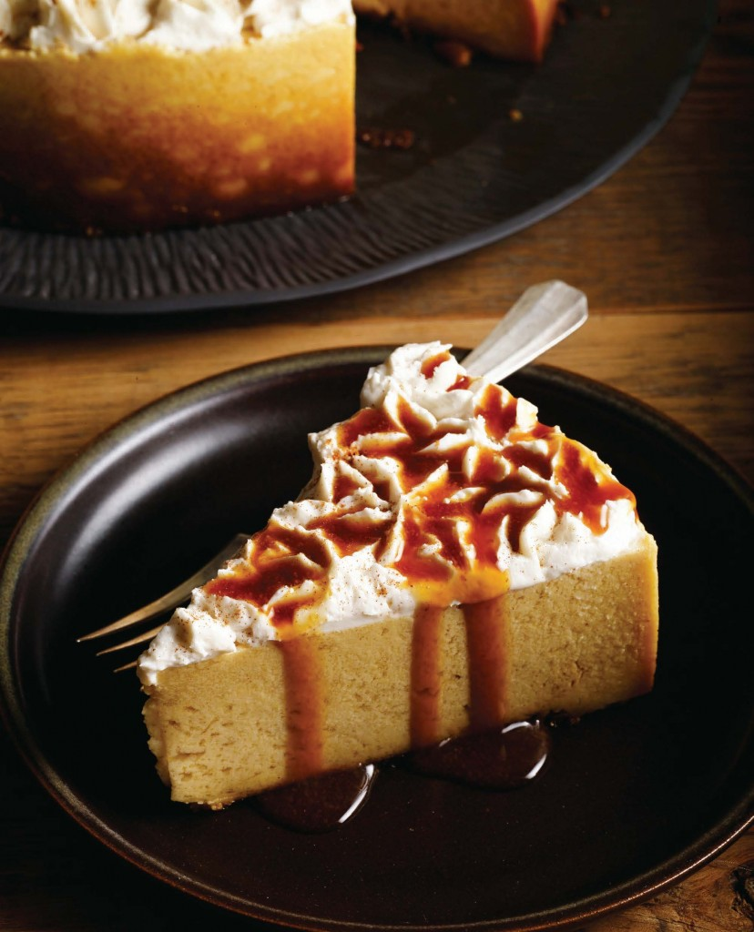 VHCC Pumpkin Cheesecake with Apple Cider Reduction image p 125