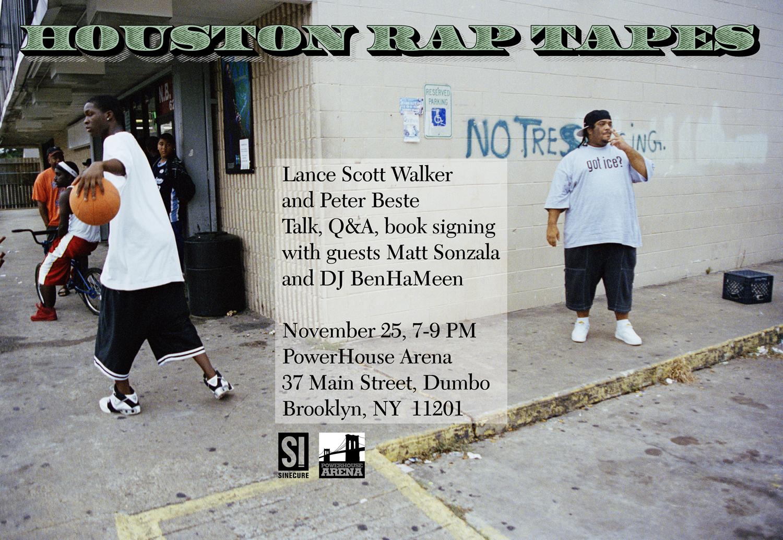 Houston Rap/Houston Rap Tapes by Peter Beste & Lance Scott Walker