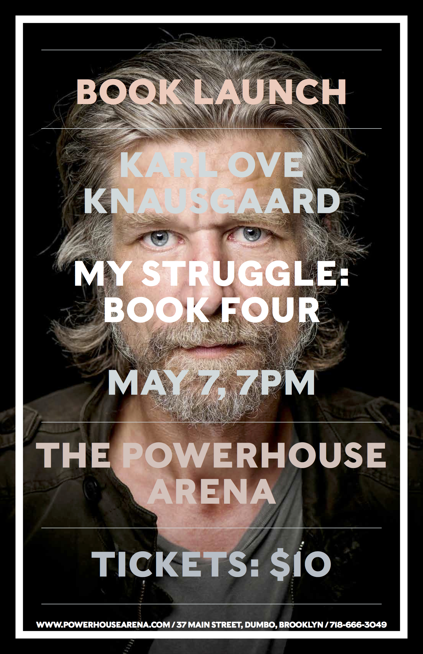 NYC Book Launch: My Struggle: Book Four by Karl Ove Knausgaard with Ben Lerner