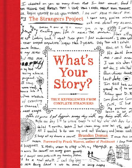 Book Launch: What's Your Story? by Brandon Doman