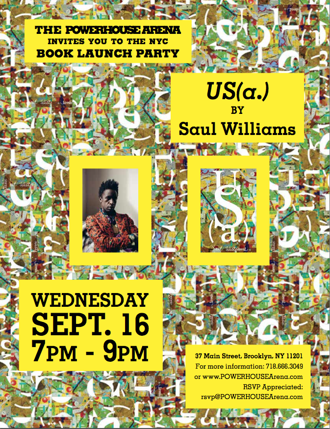 Official Brooklyn Book Festival Bookend Event: US(a.) by Saul Williams in conversation with Miles Marshall Lewis