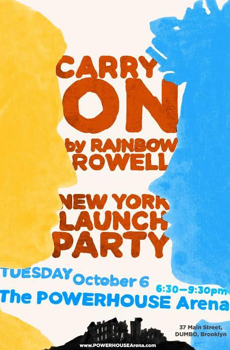 Book Launch: Carry On by Rainbow Rowell in conversation with Lev Grossman