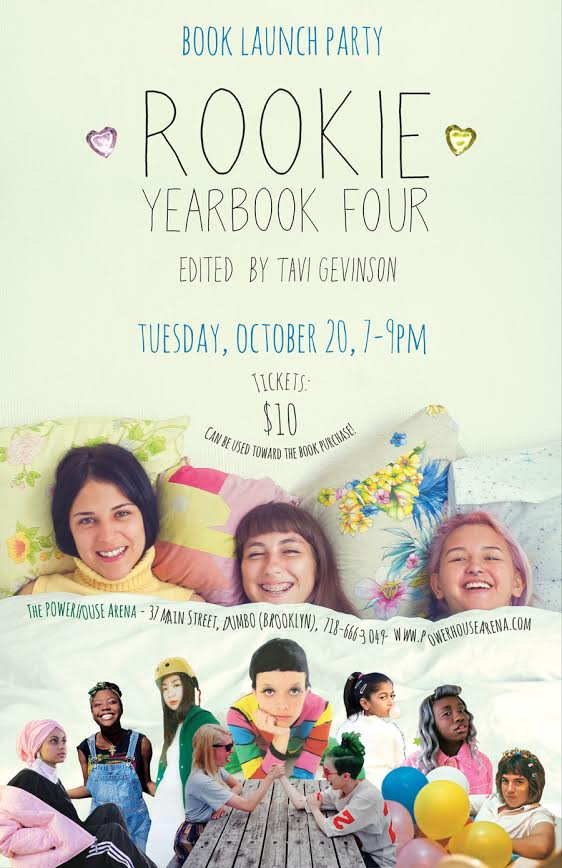 Book Launch: Rookie Yearbook 4 by Tavi Gevinson in conversation with Raury