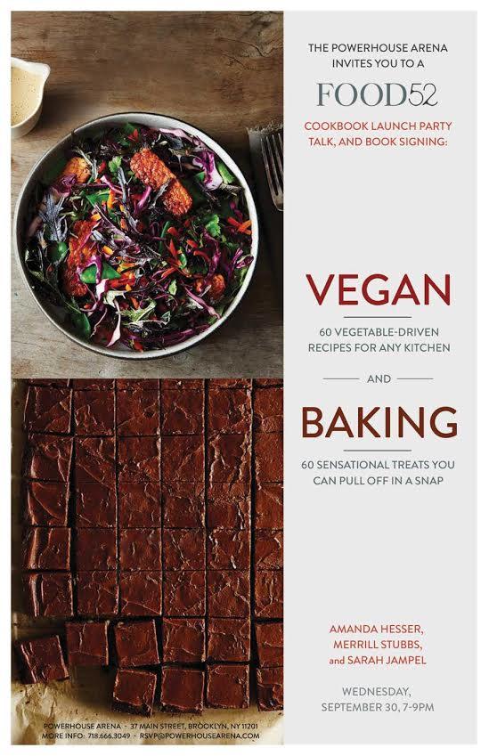 Food52 Cookbook Launch: Food52 Baking & Food52 Vegan