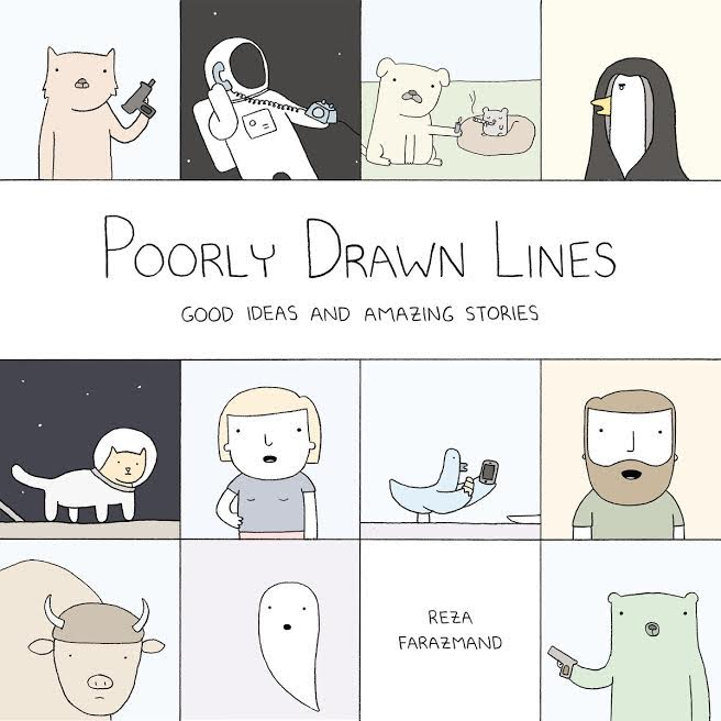 Book Launch: Poorly Drawn Lines: Good Ideas and Amazing Stories by Reza Farazmand in conversation with Alyssa Bereznak