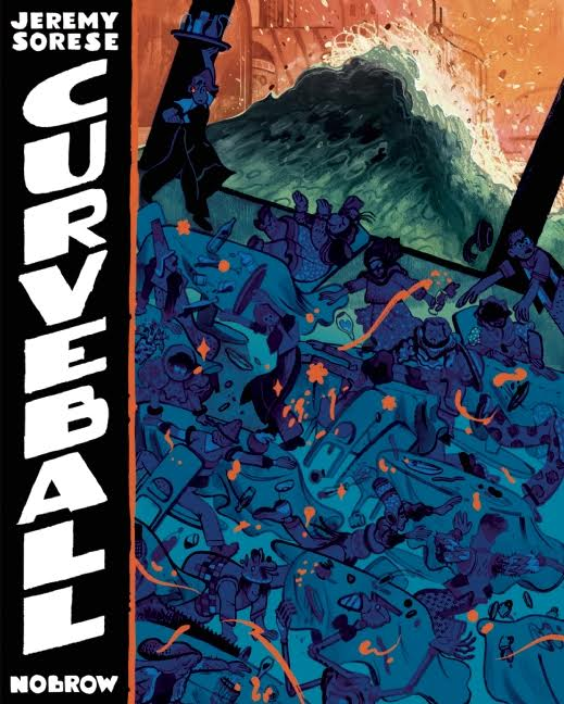 Book Launch: Curveball by Jeremy Sorese in conversation with Calvin Reid