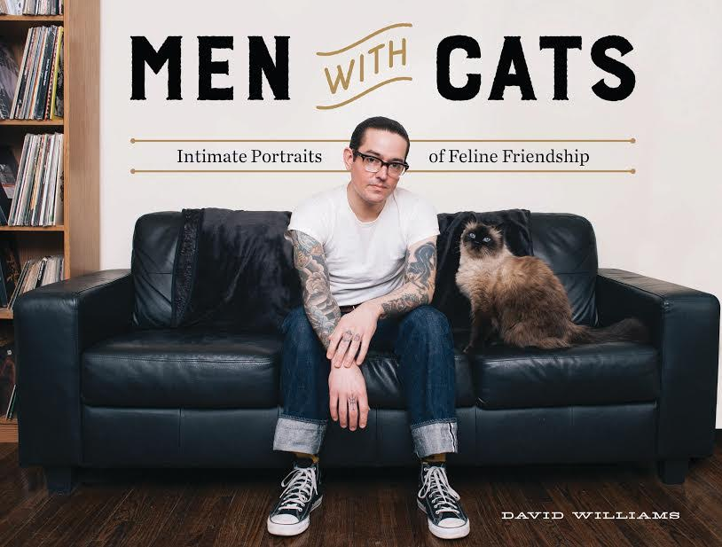 Book Launch: Men with Cats: Intimate Portraits of Feline Friendship by David Williams in conversation with Joe Crump
