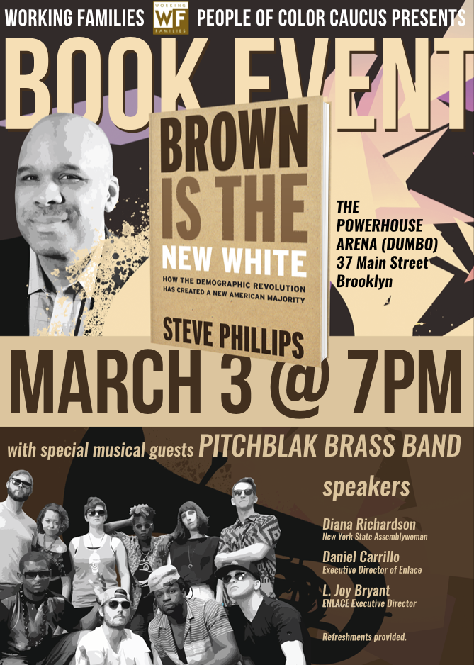Book Launch: Brown is the New White by Steve Phillips